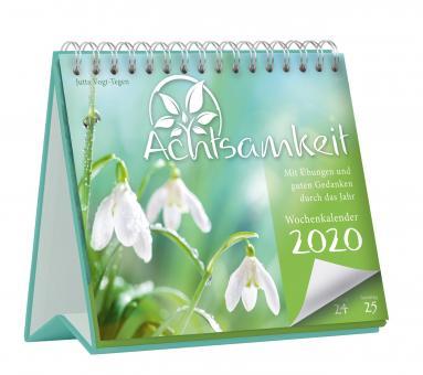 Kalender 2020 Achtsamkeit - Der Weg zur eigenen Wertschätzung