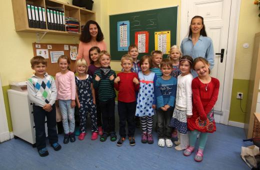 Evangelische Grundschule Kinderakademie Eberswalde, Klassen 1