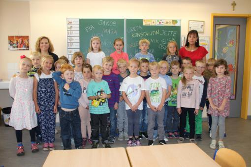 Evangelische Grundschule Neuruppin, Klasse 1a