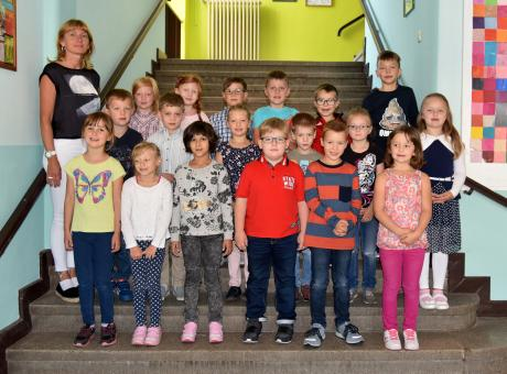 Johann-Heinrich-Bolte-Grundschule Fehrbellin, Klasse 1a