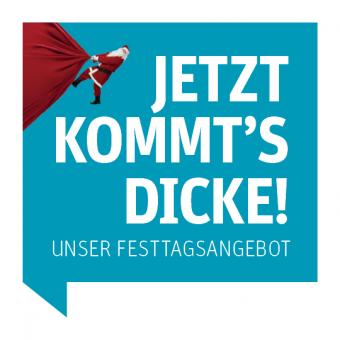 Weihnachtsabo 2018 - 4 Wochen Zeitung digital lesen für nur 19 € + ein Glücksrakete-Los gratis dazu