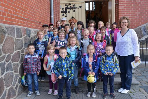 Theodor-Fontane-Grundschule Fürstenwalde, Klasse 1a