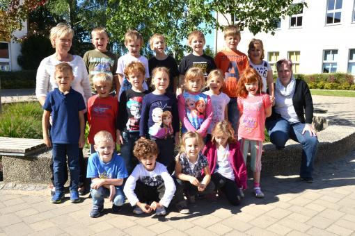 "Grundschule ""Dr . Theodor Neubauer"" in Heinersdorf, 1. Klasse"
