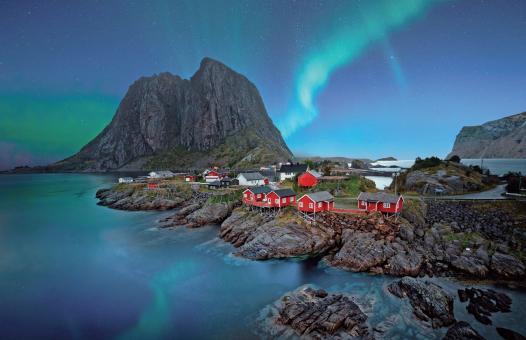 Im Zauber des Polarlichts
