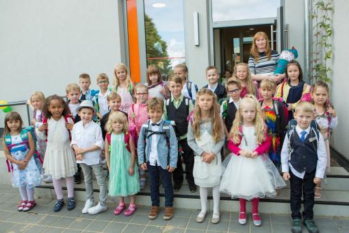 Grundschule Eggersdorf, Klasse 1a