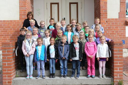 Grundschule Am Stienitzsee Hennickendorf, Klasse 1 a