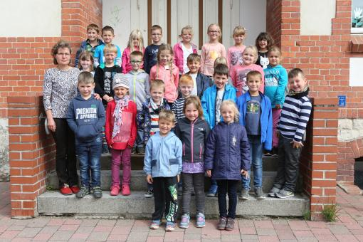 Grundschule Am Stienitzsee Hennickendorf, Klasse 1 b