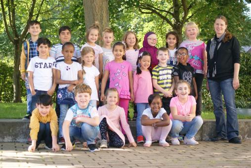 Sonnengrundschule Hennigsdorf Klasse 1b
