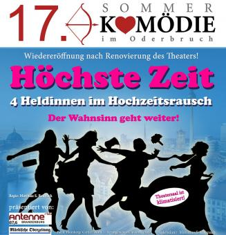 17. Sommerkomödie im Oderbruch 16.8.