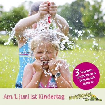 Kruschel feiert Kindertag - drei Wochen gratis testen