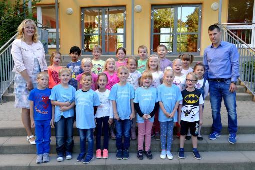 Karl-Liebknecht-Schule Neuruppin, Klasse 1b