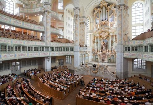 Weihnachtsoratorium in der Kreuzkirche Dresden