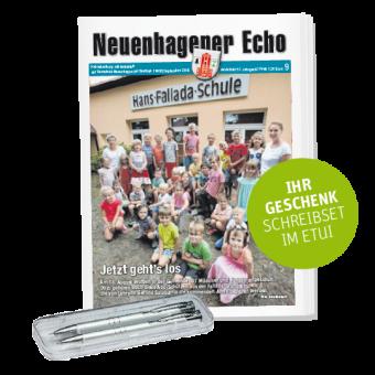Das Neuenhagener Echo erst gratis lesen, dann im Abonnement bestellen!