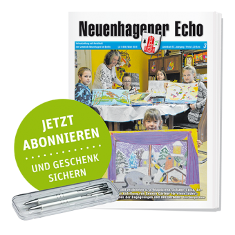 """Neuenhagener Echo """"Jetzt abonnieren und Geschenk sichern"""""""