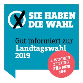 ePaper Wahl-Abo 2019 -  4 Wochen Zeitung digital  lesen für 19 €