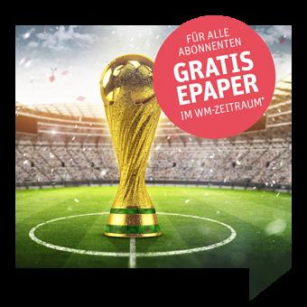Gratis ePaper im WM-Zeitraum ( 14. Juni – 15. Juli)