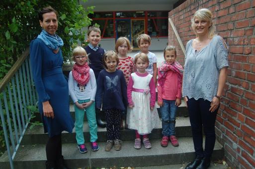 Montessori-Schule Bernau, Klasse 1a