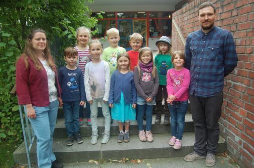 Montessori-Schule Bernau, Klasse 1b