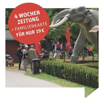 4 Wochen-Zeitung für nur 19 € + Familienkarte Germendorf