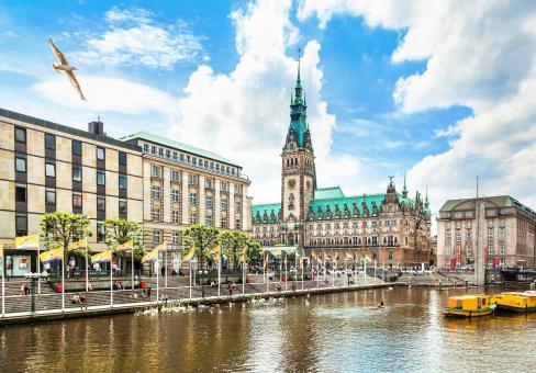 Hamburg im Frühling