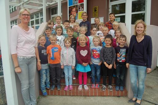 Grundschule am Rollberg Bernau, Klasse 1c
