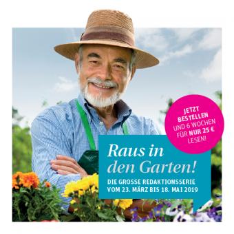 """ePaper """"Raus in den Garten"""" - digital 6 Wochen lesen"""