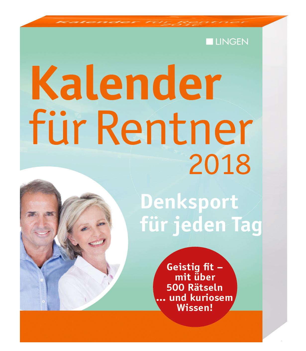 kalender f r rentner 2018 m rkische onlinezeitung shop. Black Bedroom Furniture Sets. Home Design Ideas